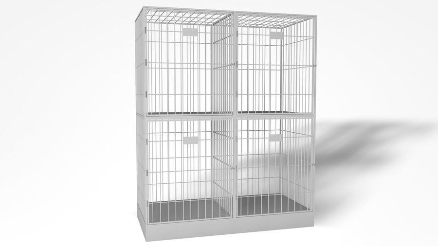 Cage royalty-free 3d model - Preview no. 4
