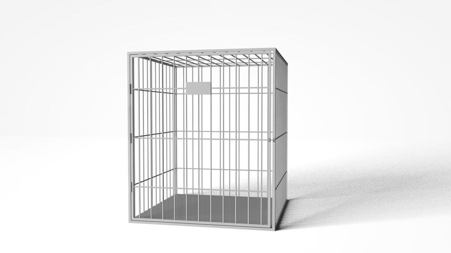 Cage royalty-free 3d model - Preview no. 1