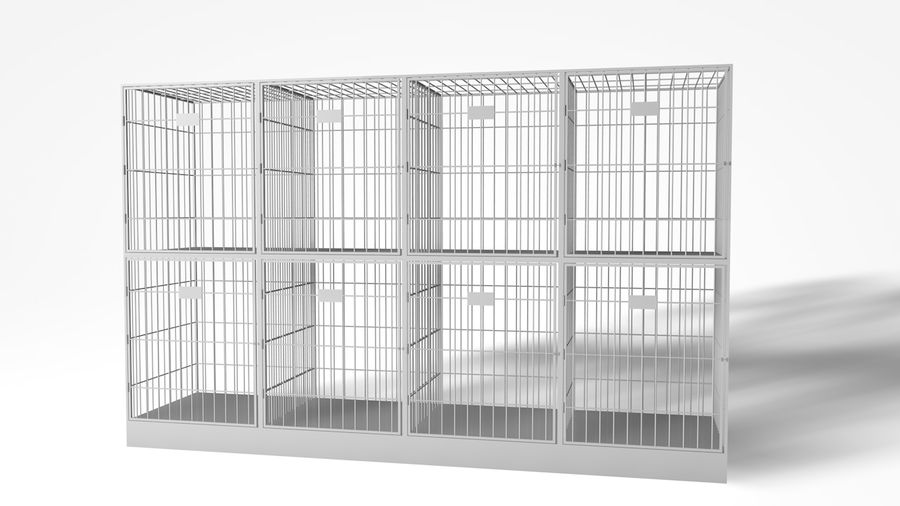 Cage royalty-free 3d model - Preview no. 5