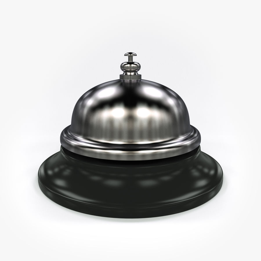 Hotel Bell royalty-free 3d model - Preview no. 1