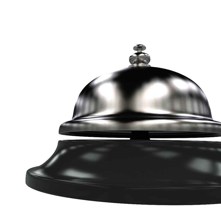 Hotel Bell royalty-free 3d model - Preview no. 4