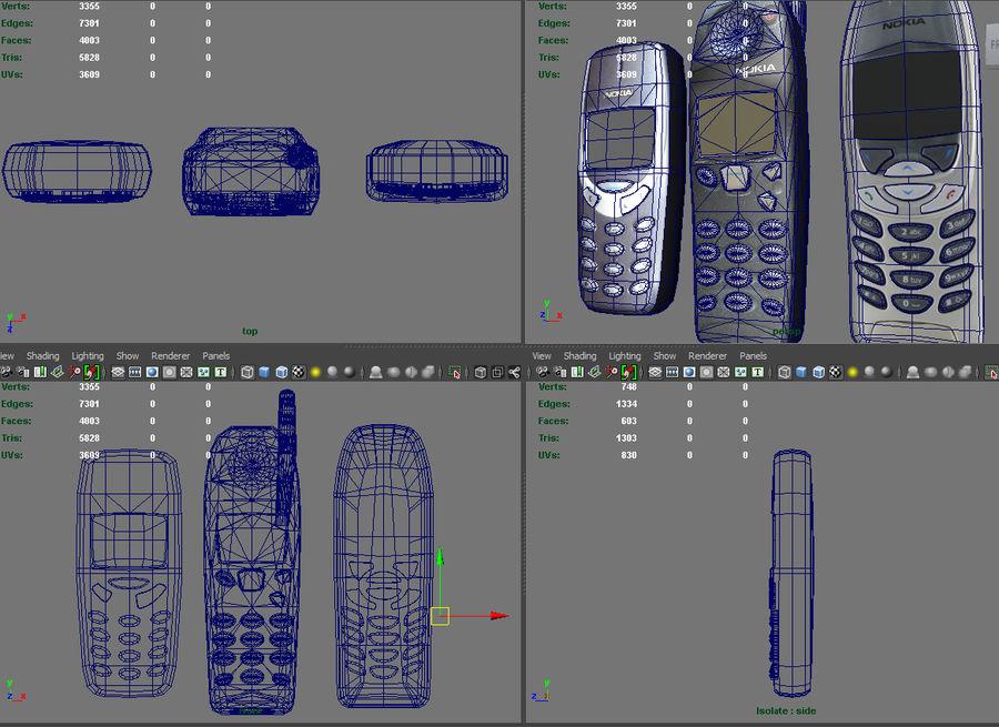 NOKIA Models royalty-free 3d model - Preview no. 5