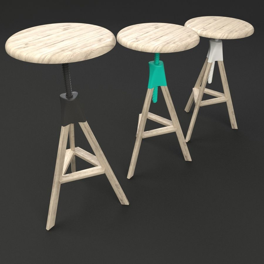Tom Jerry Bar Stool Tall 3d Model 19 Obj 3ds Max Free3d # Muebles Tom Mobel