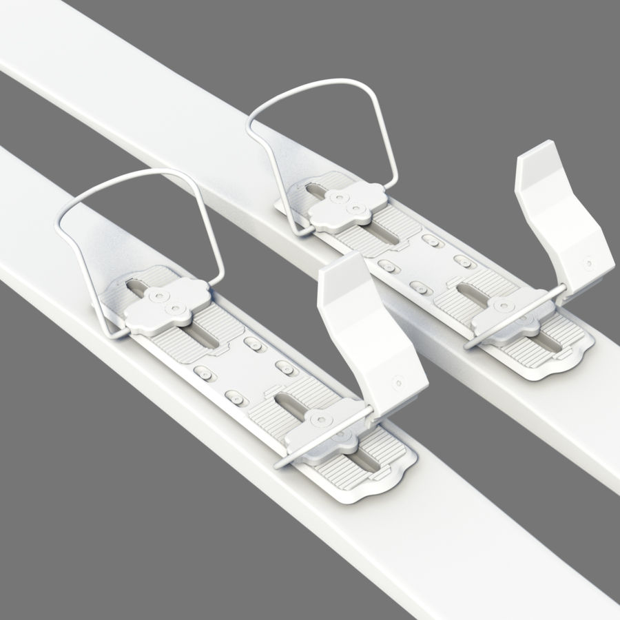 ski board 06 royalty-free 3d model - Preview no. 2