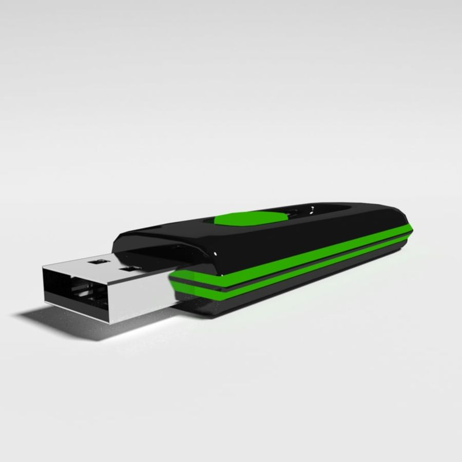 Flash Drive royalty-free 3d model - Preview no. 1
