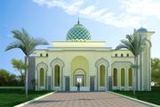 Mosque 3d model