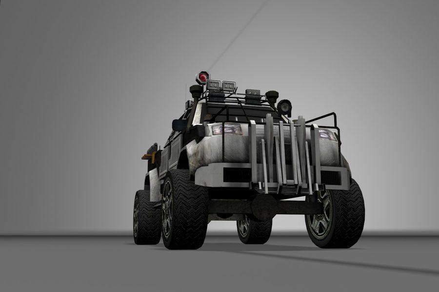 Car war royalty-free 3d model - Preview no. 10