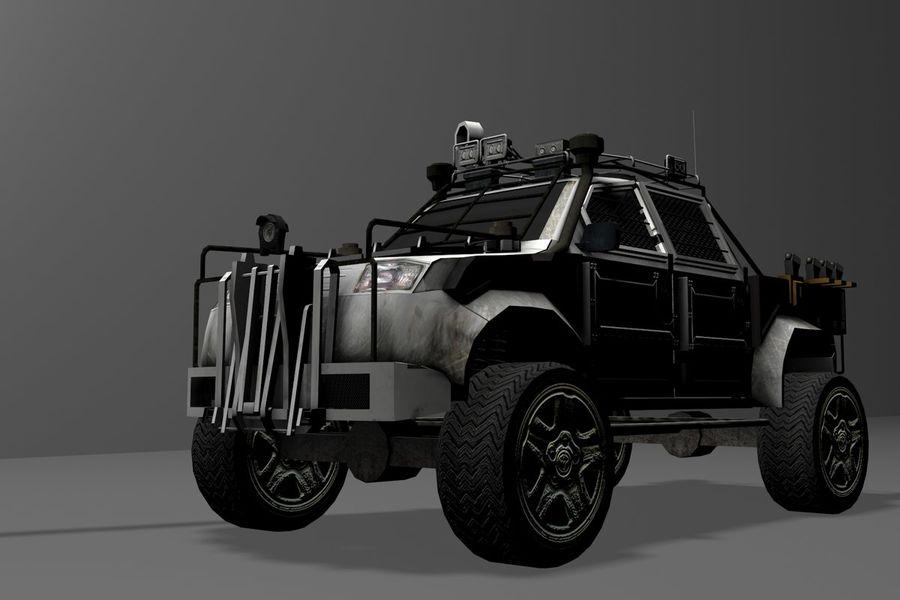 Car war royalty-free 3d model - Preview no. 13