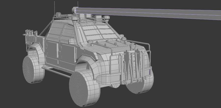 Car war royalty-free 3d model - Preview no. 2