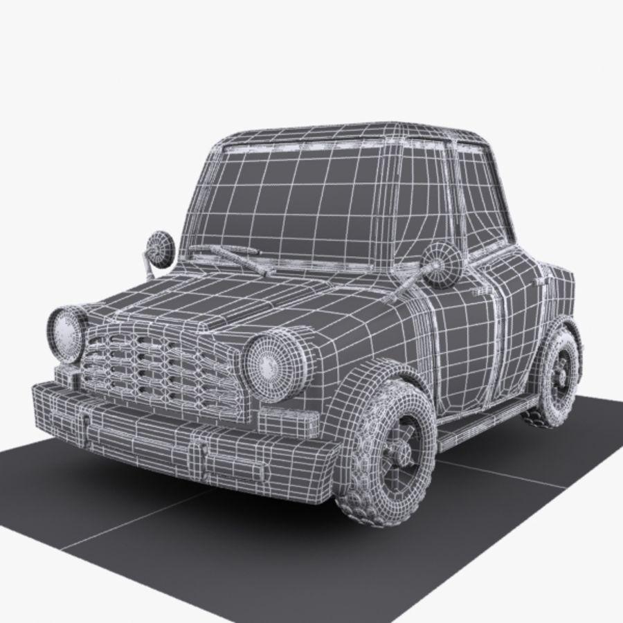 Cartoon Car 1 royalty-free 3d model - Preview no. 9