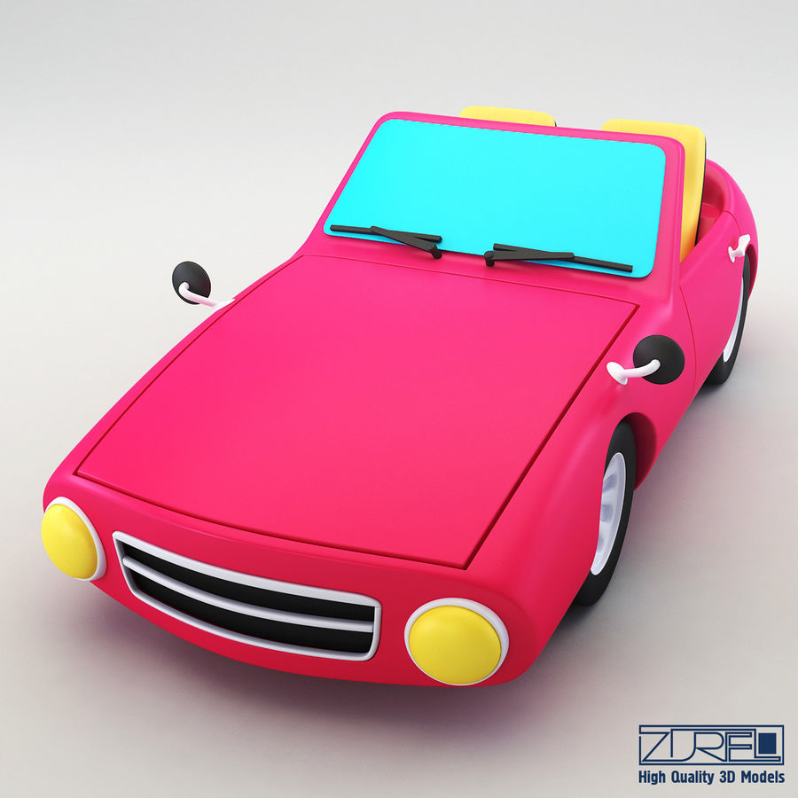 Sport car royalty-free 3d model - Preview no. 3