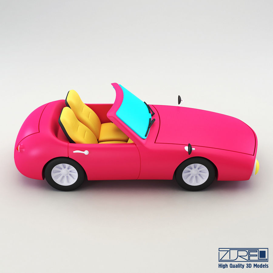 Sport car royalty-free 3d model - Preview no. 7