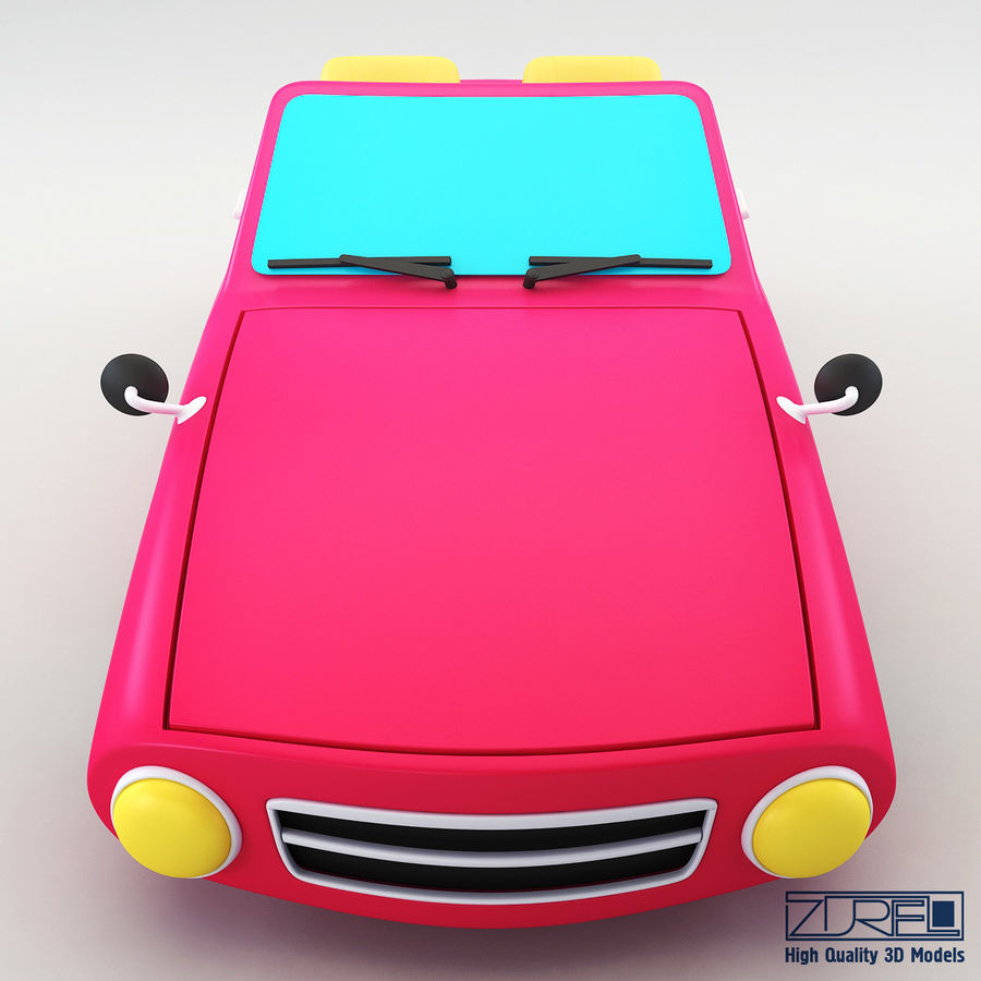 Sport car royalty-free 3d model - Preview no. 5