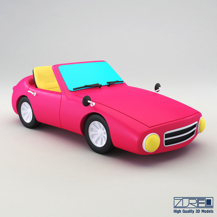 Sport car royalty-free 3d model - Preview no. 1