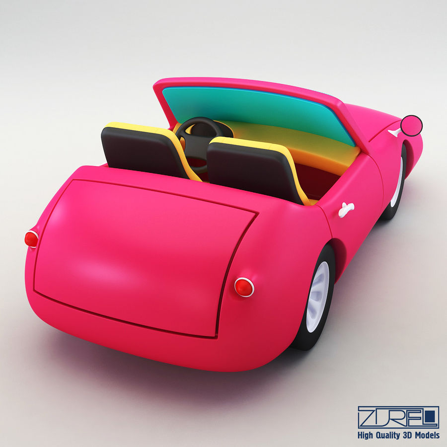 Sport car royalty-free 3d model - Preview no. 4