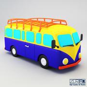 Ретро автобус 3d model