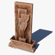 Fountain decoratibe 3d model