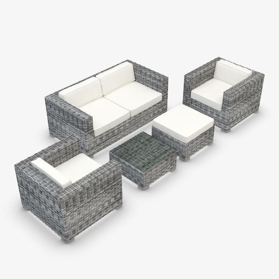 Tavolino Rattan Da Giardino.Mobili Da Giardino Rattan Sintetico Divano Per Mangiare