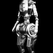 modelo de robô 3d model