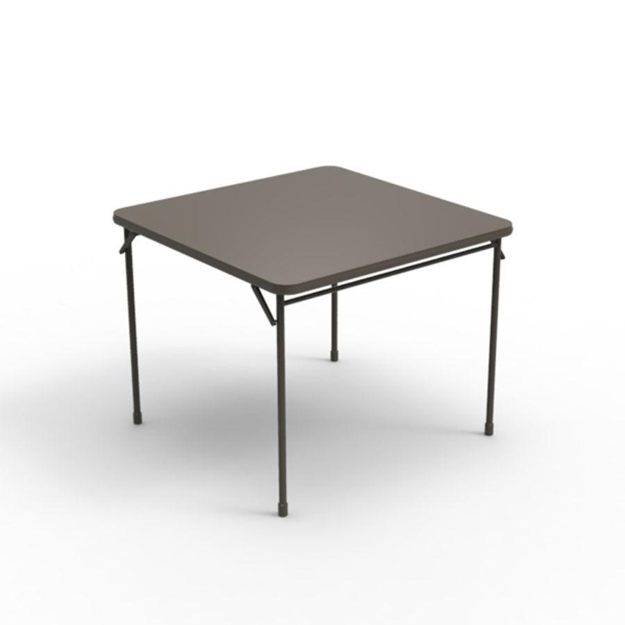 Карточный стол royalty-free 3d model - Preview no. 1