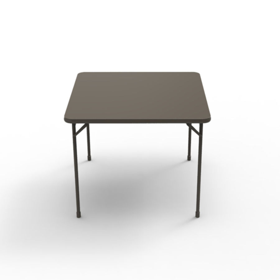 Card table royalty-free 3d model - Preview no. 2