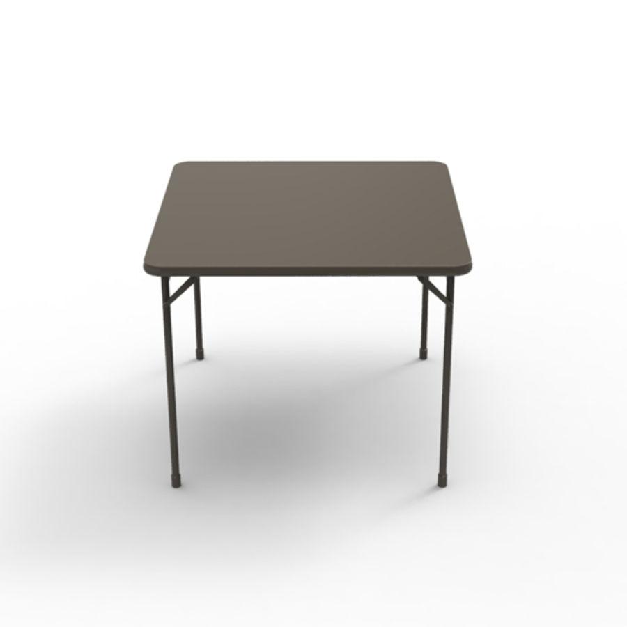 Карточный стол royalty-free 3d model - Preview no. 2