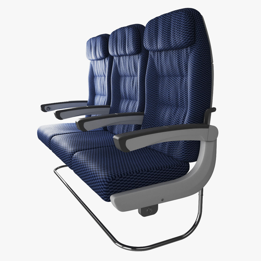 Airplane seat 3D Model $49 -  max - Free3D