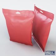 Food packaging 100 grams 3d model