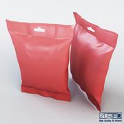 Food packaging 50 grams v 2 3d model