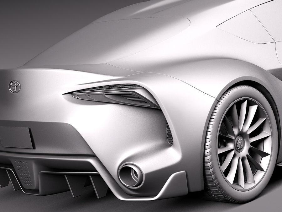 Toyota FT-1 Concept 2015 3D Model $129 - .obj .max .lwo .fbx .c4d ...