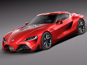 Toyota FT-1 Concept 2015 3d model