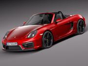 Porsche Boxster GTS 2015 3d model