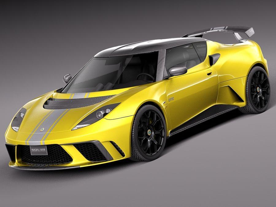 Lotus Evora Gte 2012 3d Model 129 X Obj Lwo Fbx C4d 3ds