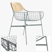 Varaschin Metal Armchair 3d model