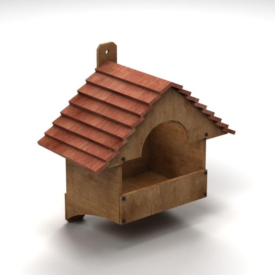 Bird House 2 royalty-free 3d model - Preview no. 1