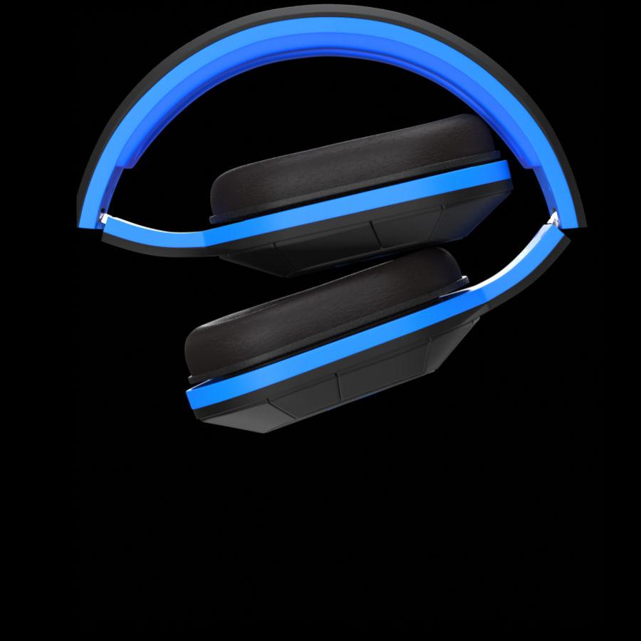 Soul Electronics Combat Kulaklıklar royalty-free 3d model - Preview no. 4