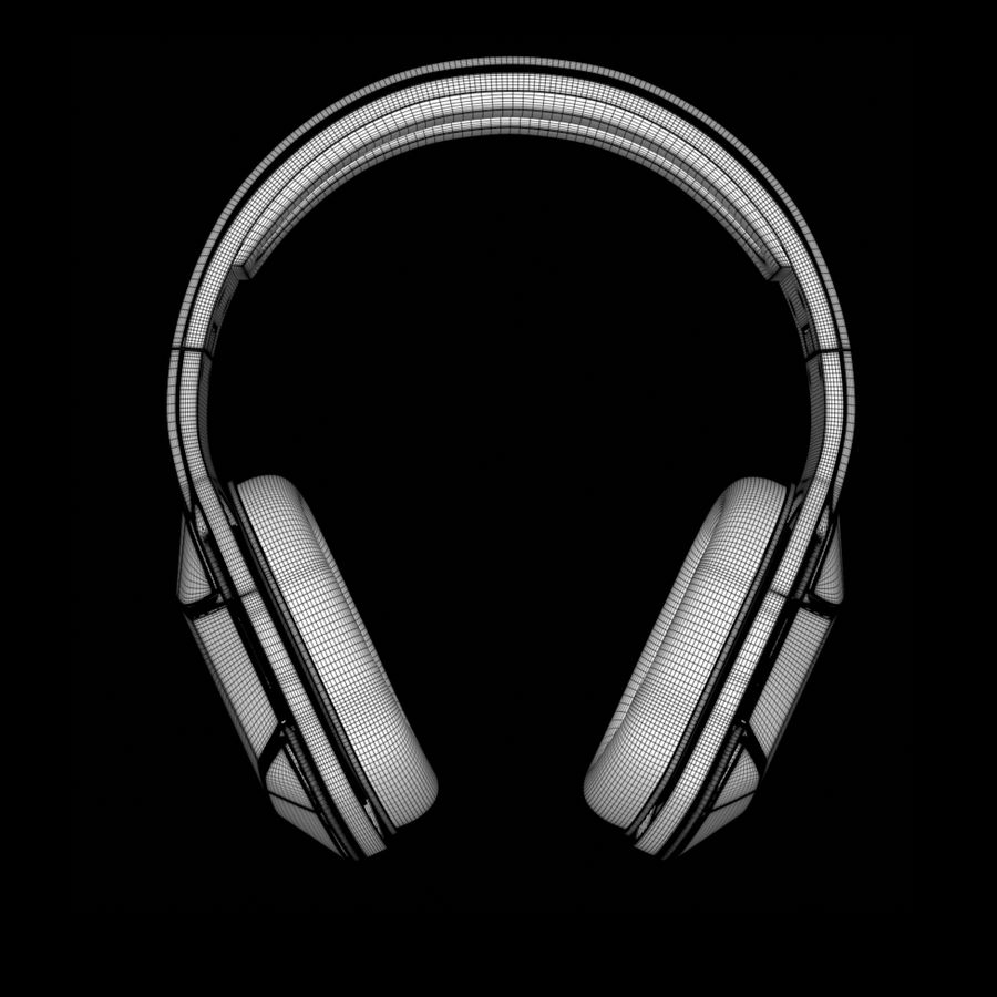 Soul Electronics Combat Kulaklıklar royalty-free 3d model - Preview no. 11
