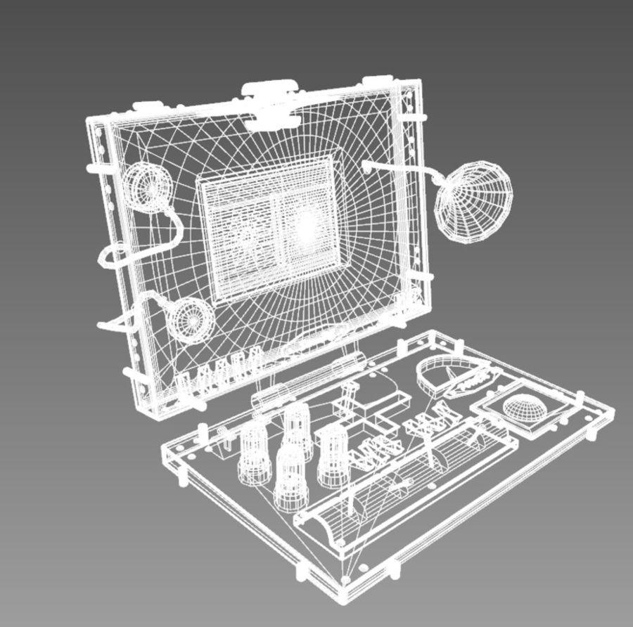 SteamPunk Laptop royalty-free 3d model - Preview no. 6