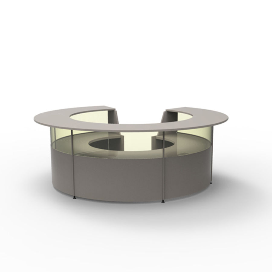 Receptie royalty-free 3d model - Preview no. 1