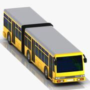 Cartoon Metrobus 3d model