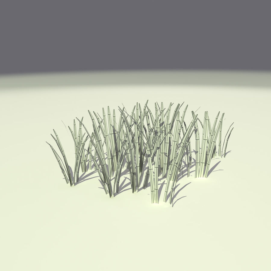 Herbe royalty-free 3d model - Preview no. 7