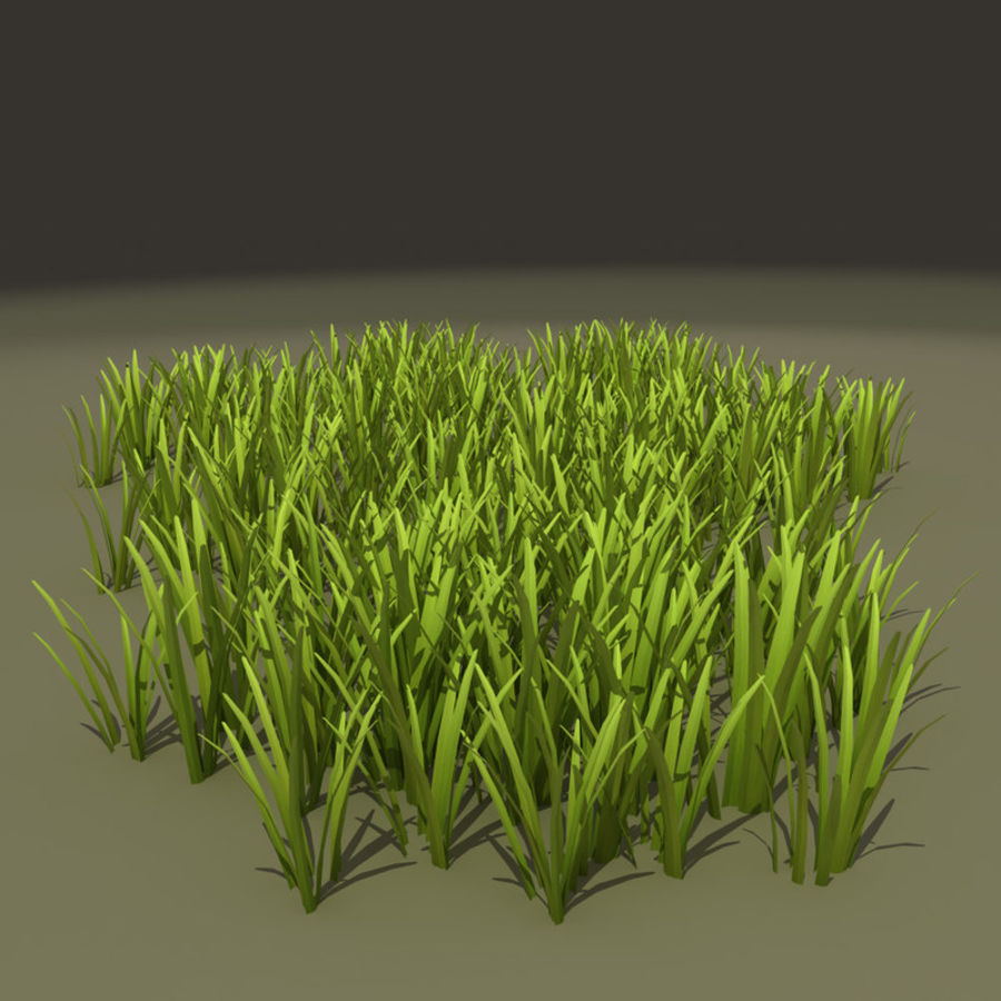 Herbe royalty-free 3d model - Preview no. 4