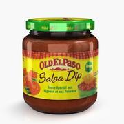 Sauce Salsa 3d model