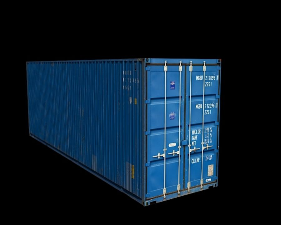 Container royalty-free 3d model - Preview no. 4
