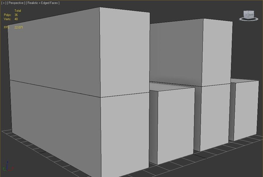 Container royalty-free 3d model - Preview no. 10