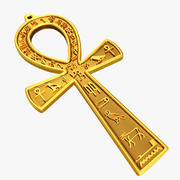 Egyptian Ankh Key 3d model