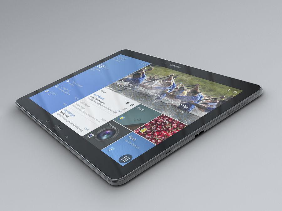 삼성 갤럭시 탭 프로 12.2 royalty-free 3d model - Preview no. 13