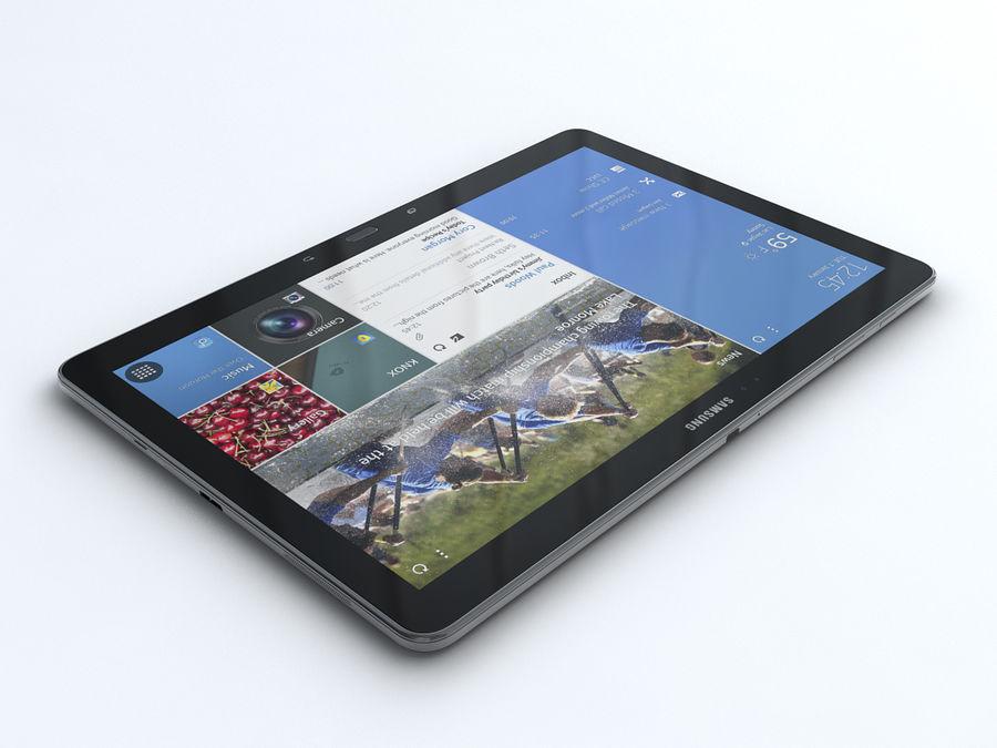 삼성 갤럭시 탭 프로 12.2 royalty-free 3d model - Preview no. 2