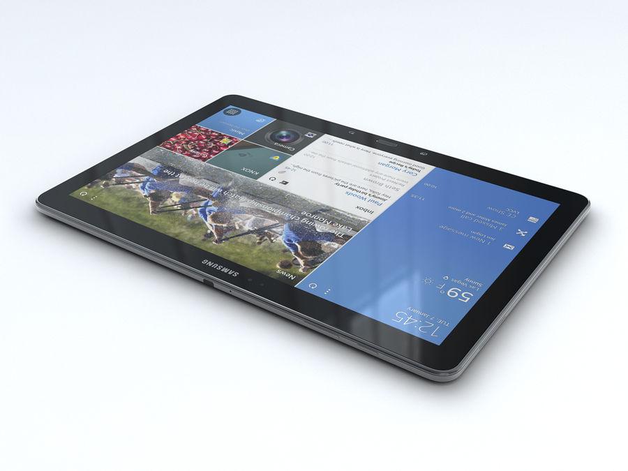 삼성 갤럭시 탭 프로 12.2 royalty-free 3d model - Preview no. 10