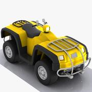 Cartoon ATV 3d model